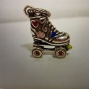 Brighton Rollerskate Charm Bead.